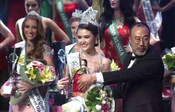 Nguyễn Thị Ngọc Duyên tân Nữ hoàng sắc đẹp toàn cầu 2016